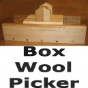 "Download Box Wool Picker Plans - 11"" x 17"""